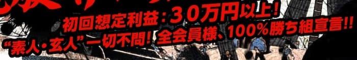 初回想定利益30万円以上!!