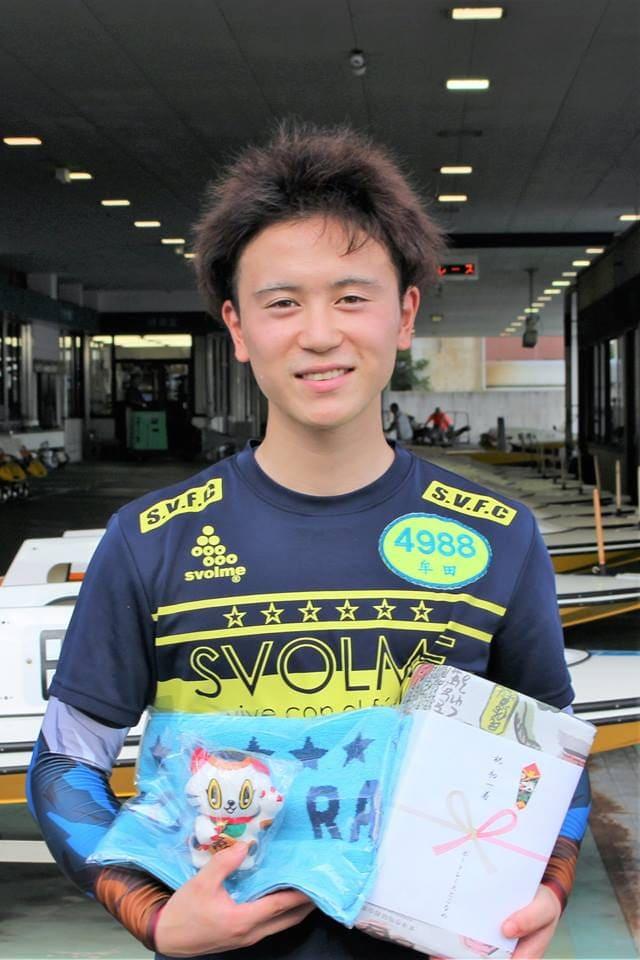 愛知バスABCツアーカップの2日目1R予選で初勝利