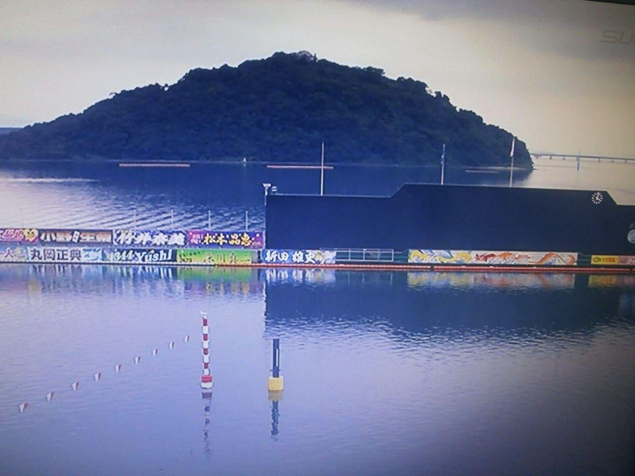 優勝戦では沼田克彦は1号艇で1コース