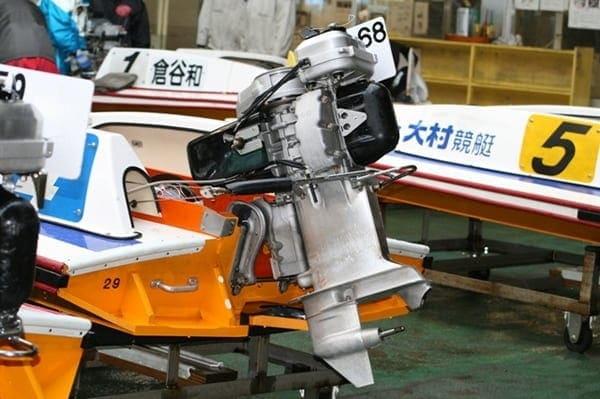 競艇のエンジン