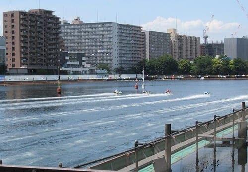 平和島競艇場では1号艇の勝率が低い