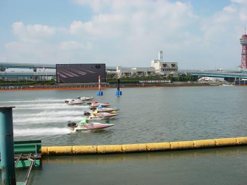 1号艇がすんなり1コースに入ることが他の競艇場より多い