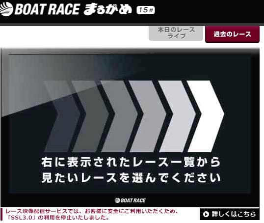 レースライブ・開催日程・オッズ情報