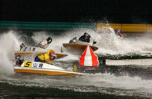 ナイター競艇が開催されているボートレース場