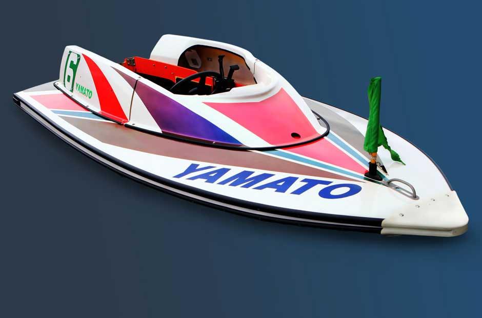 競艇で使用されるボート