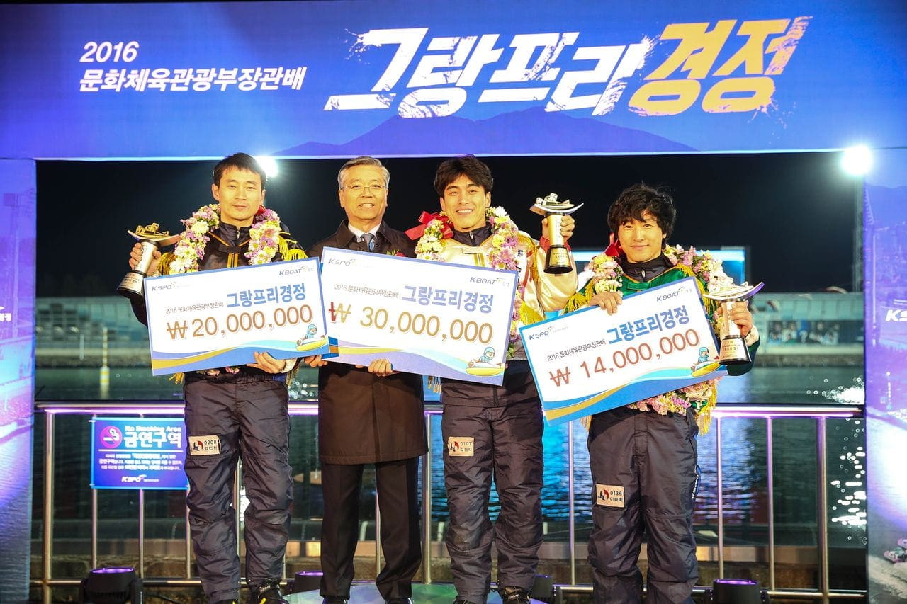 韓国競艇の選手