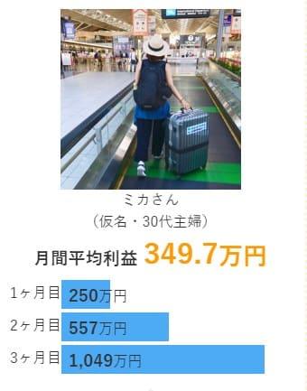競艇予想サイト ジャックポット 会員 3カ月目で1,049円の利益