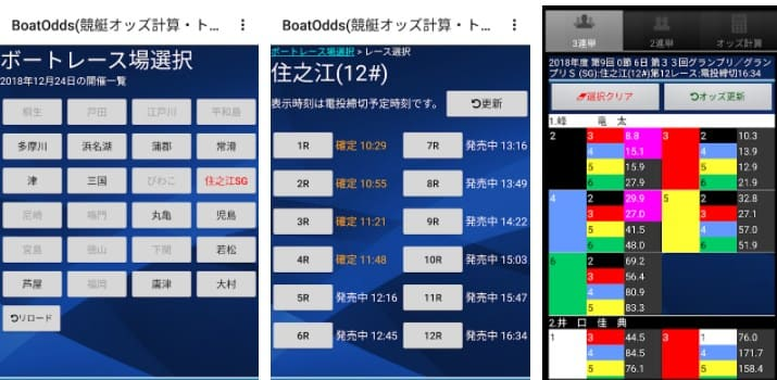 BoatOdds(競艇オッズ計算・トリガミ防止)
