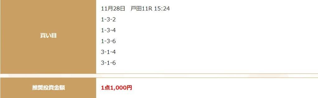 2020年11月28日戸田11R