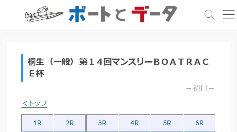 ボートとデータ