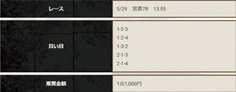 競艇神風の無料情報3